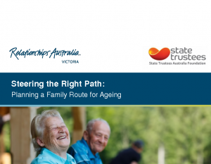 Curran, SimonSteering the right path: planning a family route for ageing