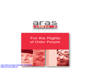 Gioffre, DorisFor the rights of older people