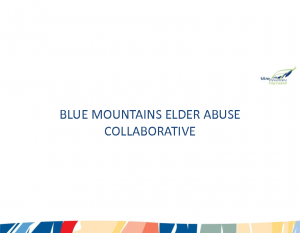 Hardgrove, PrueBlue Mountains elder abuse collaborative