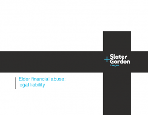 Latimer, JessicaElder financial abuse: legal liability